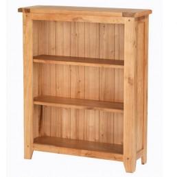 Cherbourg Oak Low Bookcase