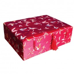 Large Red Butterfly Box