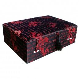 Black Dragon Brocade Box