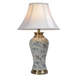 Chinese Table Lamps Birds (Pair)