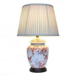 Chinese Table Lamps Blossom (Pair)