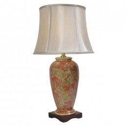 Chinese Table Lamps Daffodil (Pair)