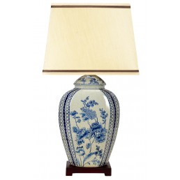 Chinese Table Lamp Sprays (Pair)