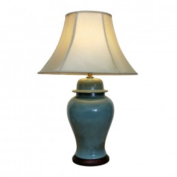 Sea-Green Jar Lamp (Pair)