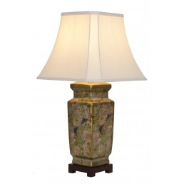 Chinese Table Lamp Antique (Pair)