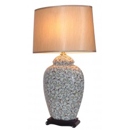 Chinese Table Lamp Leafy (Pair)