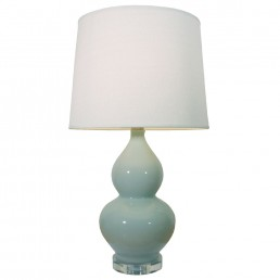 Chinese Table Lamp Hulu (Pair)