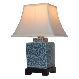 Chinese Table Lamp Caddy (Pair)