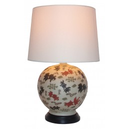 Chinese Table Lamp Bubbles (Pair)