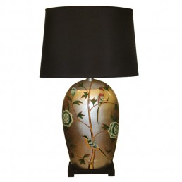 Chinese Table Lamp Birds (Pair)