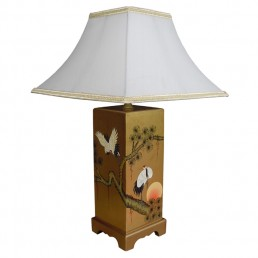 Chinese Table Lamp Ceramic - Single