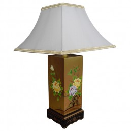Chinese Table Lamp Leaf - Single