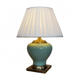 Chinese Table Lamp Ru Ware (Pair)