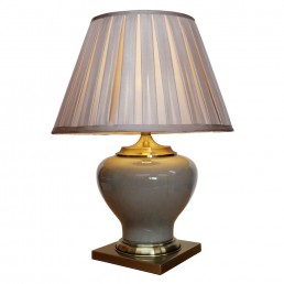 Chinese Table Lamp Smoky (Pair)