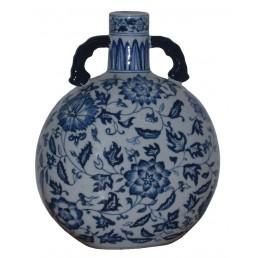 Chinese Vase Scrolls & Peony