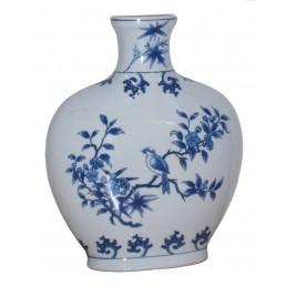 Chinese Vase Zhi Que Flat