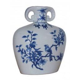 Chinese Vase Zhi Que Flask