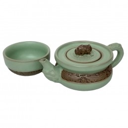 Chinese Fortune Teaset for One
