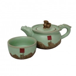 Chinese Fu Dog Teaset for One