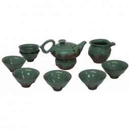 Chinese Green Iced Teaset