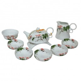 Chinese Morning Glory Teaset