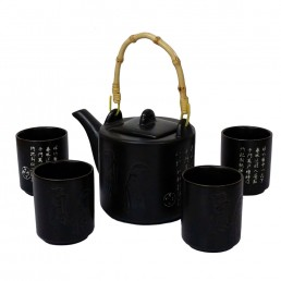 Chinese Feng Yue Poetry Teaset
