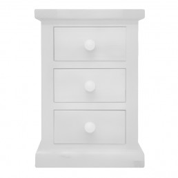 White Pine Bedside Cabinet Small