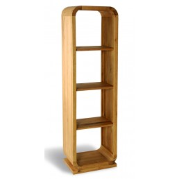 Clover Curved Oak Shelf Unit