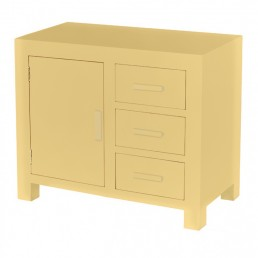 Colour Cube Small Oak Sideboard