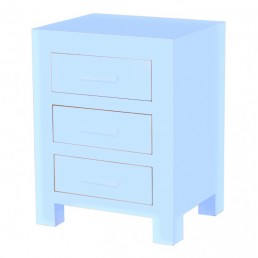 Colour Cube 3 Drawer Chest