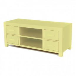 Colour Cube Long TV Cabinet