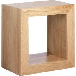 Cuba Cube Oak Storage Cube