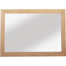 Cuba Cube Oak Mirror
