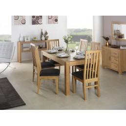 Cube Cube Oak Dining Table