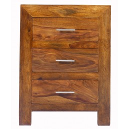 Cuba Cube Bedside Cabinet