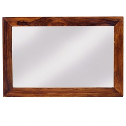 Cuba Cube Sheesham Mirror S