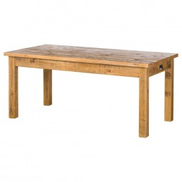 Rustic  Drawer Dining Table