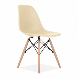 Eames Inspired Chair Cream