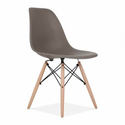 Eames Inspired Chair Warm Grey