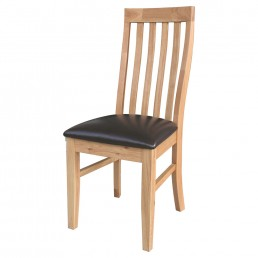 Devon Oak Dining Chair - Ladderback : Price Per Chair - sold in pairs