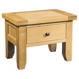 Devon Oak 1 Drawer Lamp Table
