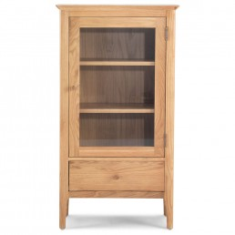Empire Oak Bookcase With Drawer