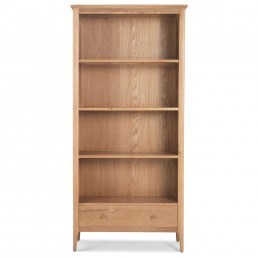 Empire Oak Large Bookcase