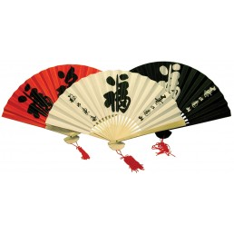 Chinese Fans - Pack of 6