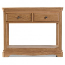 Frontier Oak Console Table