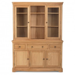 Frontier Oak Large Dresser