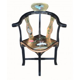Chinese Gold Leaf Chair