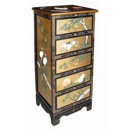Chinese Gold Lacquer Chest 5D