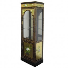 Chinese-Euro Gold Display Cabinet