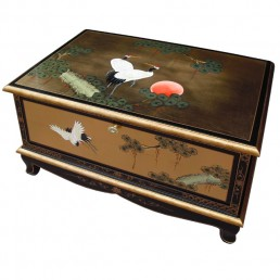 Chinese Gold Lacquer TV Table